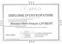 Ostéopathe Paris - ostéo charenton - ostéopathie diplome