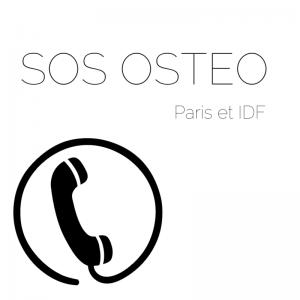SOS Ostéopathe Paris et IDF